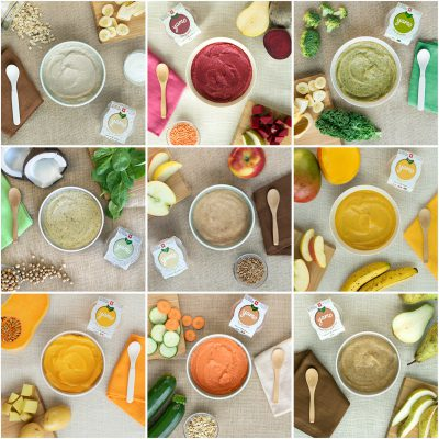 Baby food collection
